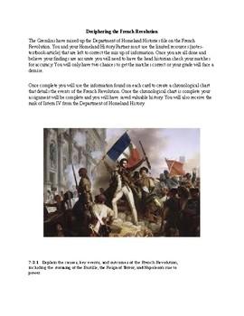 French Revolution Examination through Matching