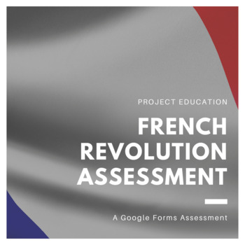 French Revolution Google Forms Assessment