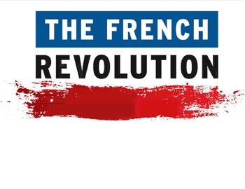 French Revolution Graphic Organizer:  both 11 x 17 and 8.5 x 11 organizers & key