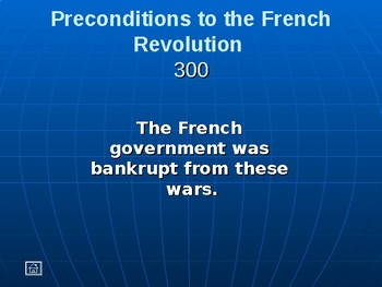 French Revolution Jeopardy
