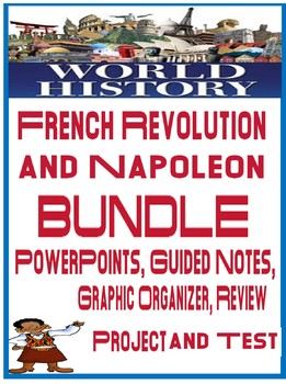 French Revolution & Napoleon Unit Bundle