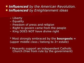 French Revolution Power Point