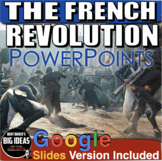 French Revolution PowerPoint with Lecture Notes & Short Vi