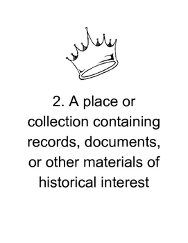 French Revolution - Printable Document Bundle