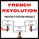 French Revolution Protest Poster Project - 3 day lesson plan, CCSS