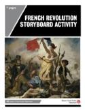 French Revolution Storyboard Activity