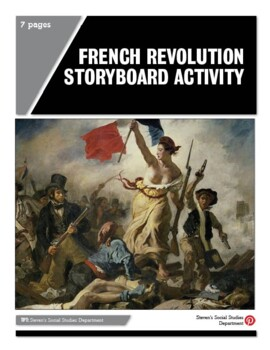 French Revolution Storyboard Activity