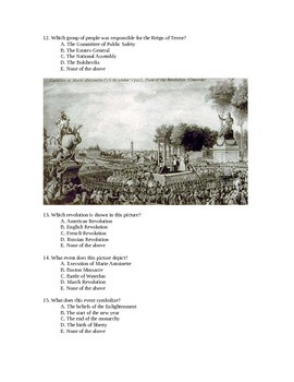 French Revolution Test