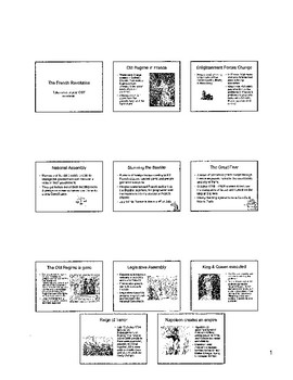 French Revolution Tests and Study Guide Plus Free Resource Pages