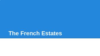 French Revolution - The 3 Estates