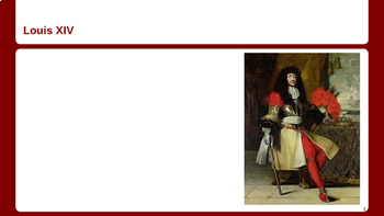 French Revolution - The Bourbon Kings & Marie Antoinette