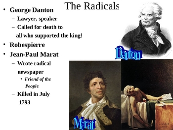 French Revolution: The Radical Years (1792- 1795)