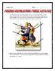 French Revolution - Three Estates (Reading, Cartoon Analysis, Project with Key)