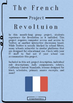French Revolution Twitter Project