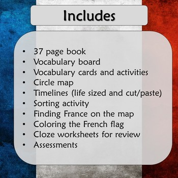 French Revolution Unit for Special Education