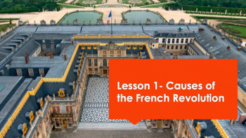 French Revolution Unit w/ PPT, Lecture Notes, and Assessments