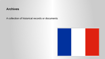 French Revolution - Vocabulary