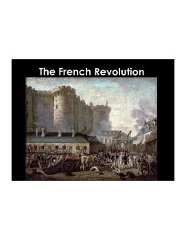 French Revolution Vocabulary Builder