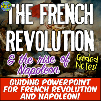 French Revolution Notes Worksheets Teaching Resources TpT
