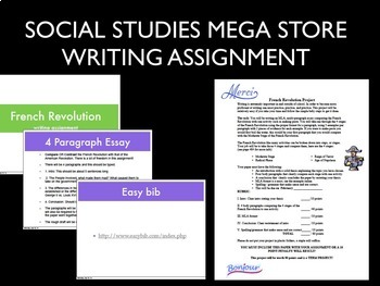 French Revolution Essay Writing Assignment World History