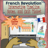 French Revolution for Google Classroom and OneDrive