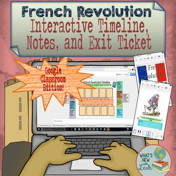 French Revolution for Google and OneDrive Distance Learning