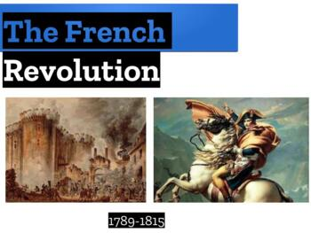 French Revolution powerpoint