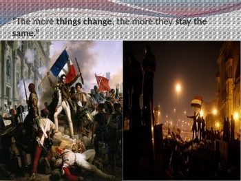 French Revolution vs Arab Spring