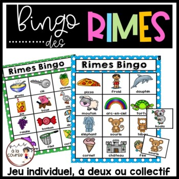 French Rhyming Bingo / Rimes Bingo