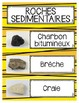 French Rocks and Minerals Word Wall