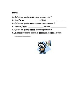 French Teaching Resources Role Play: School. Au collège.