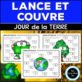 French Earth Day Roll and Cover: Addition and Subtraction