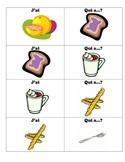 French Round Robin Vocab Practice: Breakfast Foods