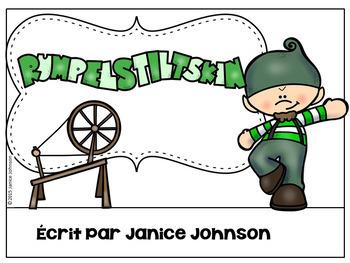 French Rumpelstiltskin Reader ~ Simplified for Language Learners