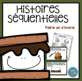 French S'more Sequencing activity/ Histoires séquentielles