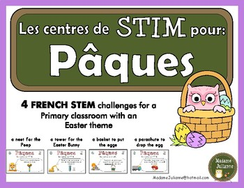 French STEM - Easter (STIM pour Pâques)