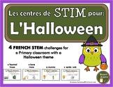 French STEM - Halloween (STIM pour l'Halloween)