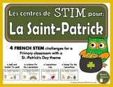 French STEM - St. Patrick's Day (STIM pour la Saint-Patrick)