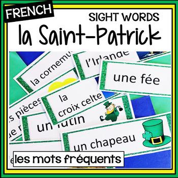 French – Saint Patrick's Day – Saint-Patrick – les mots de la Saint-Patrick