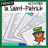 French Saint Patrick's Day Activities – La Saint-Patrick