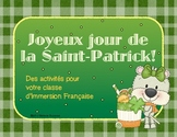 French Saint Patrick's Day Pack