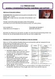 French Sample Speaking Questions for General Conversation