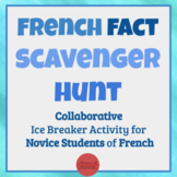 French Fact Scavenger Hunt [Cultural Activity - Great Iceb