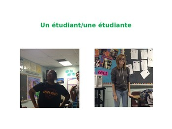 French School Building Vocabulary PPT