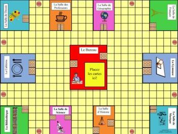 French School-L'École Game Board