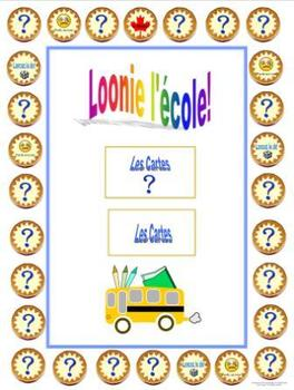 French School-L'École - Loonie L'École Game Board