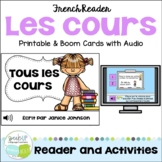 French School Subject Reader {les cours} & Vocabulary Pack