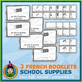 French School Supplies • 3 Reading & Writing Booklets • Ci