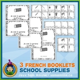French School Supplies • 3 Reading & Writing Booklets • Ju