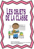 French - School Supplies - Les objets de la classe